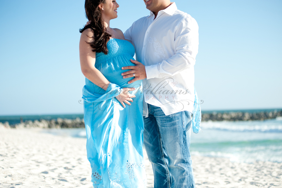 Maternity Session on Panama City Beach